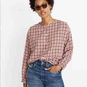 Madewell Meadow Shirt in Check Plaid